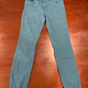 Blue Ann Taylor Loft Leggings/Pants